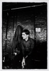 IAN CURTIS.  JOY DIVISION.  TJ DAVIDSON'S REHEARSAL ROOM, LITTLE PETER STREET, MANCHESTER.  19 AUGUST979