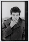 IAN CURTIS, JOY DIVISION.  HULME, MANCHESTER 6 JANUARY 1979