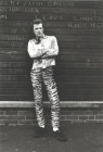 PAUL IN LEOPARD-SKIN TROUSERS, BATTERSEA, JULY 1974