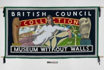 This banner represents earlier works from the colleciton and includes Barbara Hepworth, Ewan Uglow and Henry Moore.