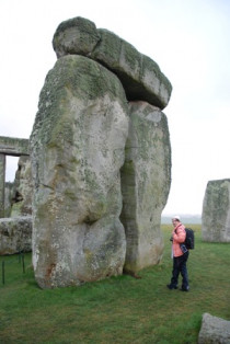 The Artist at Stonehenge