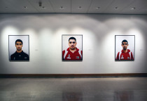 Installation view, Brunei Gallery London 2012
