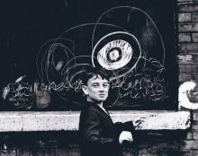 Shirley Baker 'Cheeky young graffiti artist - Manchester 1967' 1967