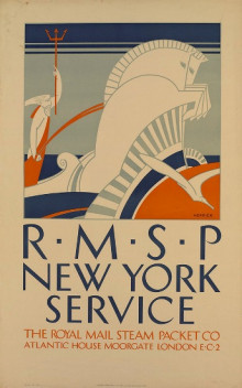 ROYAL MAIL STEAM PACKET  NEW YORK SERVICE
