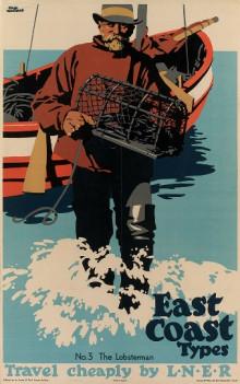 EAST COAST TYPES NO. 3 THE LOBSTERMAN