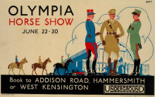 OLYMPIA HORSE SHOW JUNE 22-30 1925