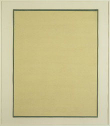 DRAWING FOR PAINTING 3 (YELLOW/BEIGE/GREEN)