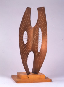 MAQUETTE FOR WINGED FIGURE