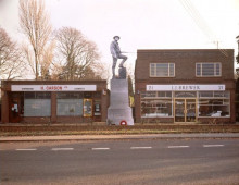 MAQUETTE FOR WAR MEMORIAL SONNING COMMON