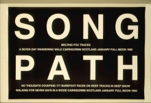 SONG PATH (TWO WALKS JANUARY 1992 AND JANUARY 1993)
