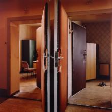 DOUBLE DOORS, HOHENSCHONHAUSEN (STASI CITY)