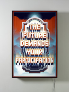 THE FUTURE DEMANDS YOUR PARTICIPATION
