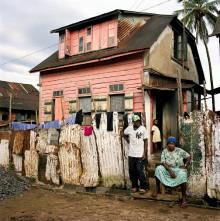 TRADITIONAL KRIO ARCHITECTURE, FREETOWN, SIERRA LEONE