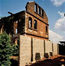 ABANDONED BUILDING, PADEMBA ROAD, FREETOWN, SIERRA LEONE