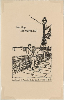 LOST DAY  11TH MARCH, 1971