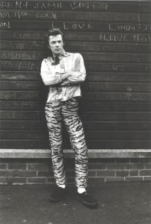 PAUL IN LEOPARD-SKIN TROUSERS, BATTERSEA, JULY 1974