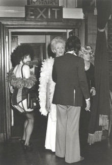 DRAG BALL AT PORCHESTER HALL, BAYSWATER, FEBRUARY 1977