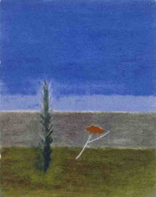 TREE AND POPPY, MONTECASTELLI