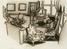 M. GARNDET'S PRINCIPAL ROOM/MME GRANDET'S CHAIR