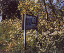 FADING POLITICAL POSTERS, COUNTY TYRONE
