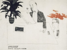 'RECEIVING THE INHERITANCE' FROM A RAKE'S PROGRESS (PORTFOLIO OF SIXTEEN PRINTS) 1961-63