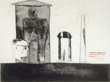 'MEETING THE GOOD PEOPLE (WASHINGTON)' FROM A RAKE'S PROGRESS (PORTFOLIO OF SIXTEEN PRINTS) 1961-63