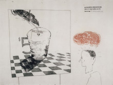 'DISINTERGRATION' FROM A RAKE'S PROGRESS (PORTFOLIO OF SIXTEEN PRINTS) 1961-63