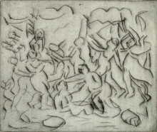 THE TRIUMPH OF PAN (FROM A POUSSIN DRAWING I)
