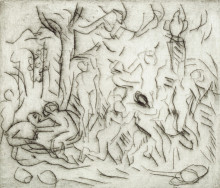 THE TRIUMPH OF PAN (FROM A POUSSIN DRAWING II)
