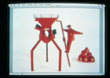 THE STILLS FROM THE VIDEO 'SCRAPHEAP SERVICES'
