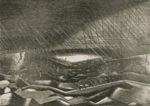 RAIN, LAKE ZILLIBEKE