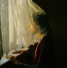 Shopna at the window