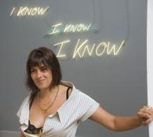 Tracey Emin in Venice, 2009