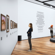 Stills from the online exhibition