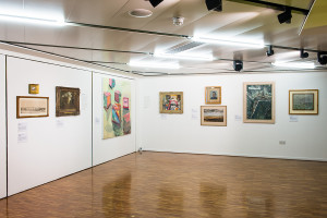 Installation view of Perspectives. Photo courtesy James Gifford-Mead
