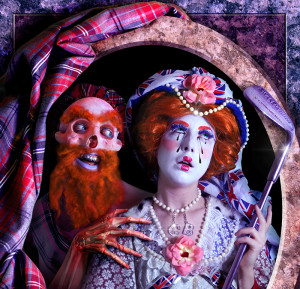 Rachel Maclean THE LION AND THE UNICORN 2012