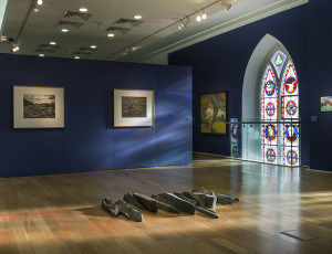 In Sense of Place, installation view at Highlanes Gallery