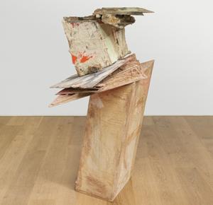Phyllida Barlow, untitled: slidingupturnedhouse, 2015