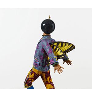 Yinka Shonibare MBE, BUTTERFLY KID (BOY) II, 2015