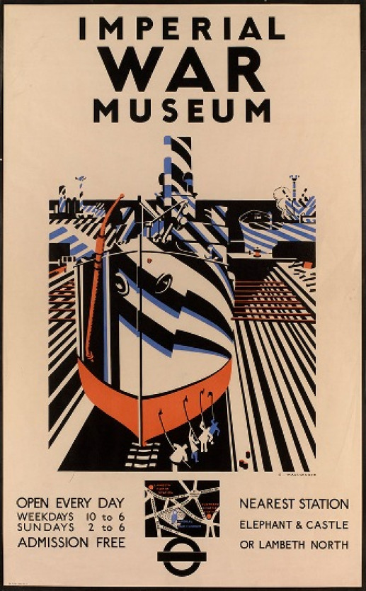 POSTER FOR THE IMPERIAL WAR MUSEUM
