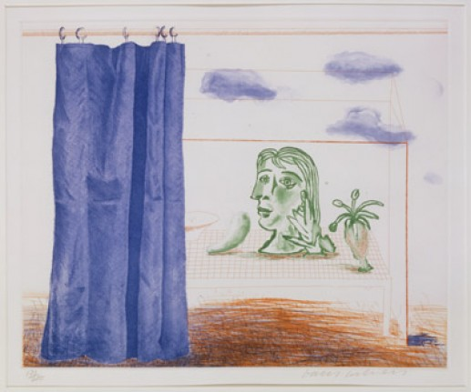 'WHAT IS THIS PICASSO?' FROM THE BLUE GUITAR (PORTFOLIO OF TWENTY PRINTS) 1976-77