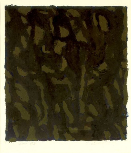UNTITLED (GREEN/OCHRE)