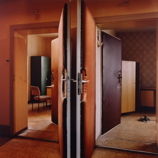 DOUBLE DOORS, HOHENSCHONHAUSEN (STASI CITY)