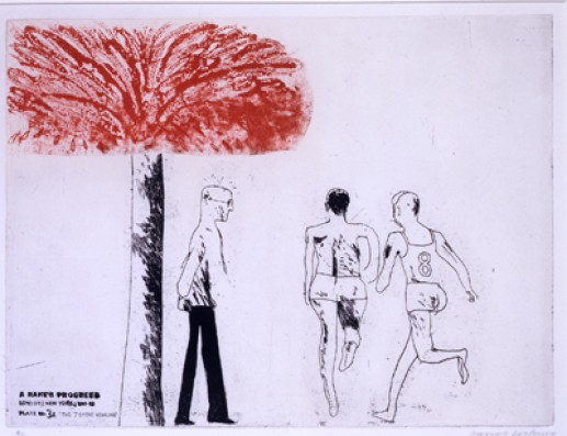 'THE SEVEN STONE WEAKLING' FROM A RAKE'S PROGRESS (PORTFOLIO OF SIXTEEN PRINTS) 1961-63