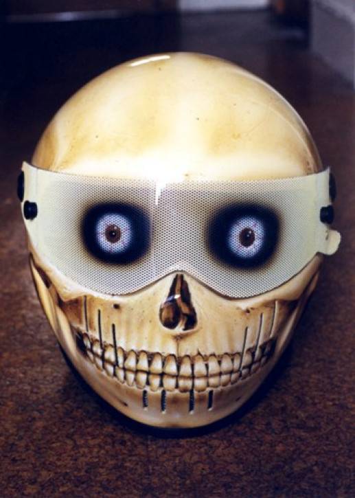 SKULL CRASH HELMET