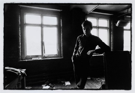 IAN CURTIS.  JOY DIVISION.  TJ DAVIDSON'S REHEARSAL ROOM, LITTLE PETER STREET, MANCHESTER, 19 AUGUST 1979