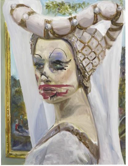 Dawn Mellor  Claire as Madame as Rosalind  2013