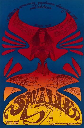 Hapshash and the Coloured Coat 'Jimi Hendrix Experience' 1967