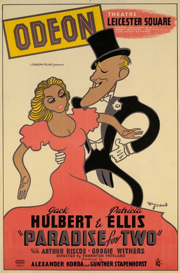 JACK HULBERT AND PATRICIA ELLIS - PARADISE FOR TWO