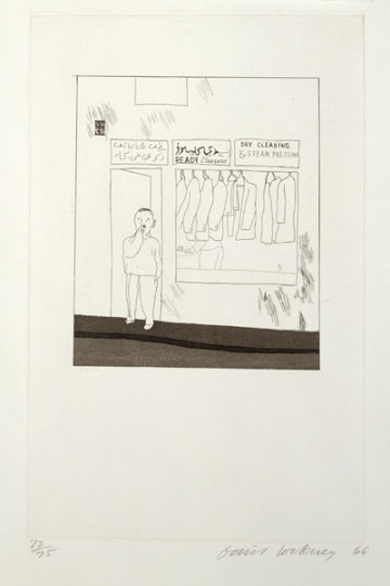 'TO REMAIN' FROM ILLUSTRATIONS FOR FOURTEEN POEMS FROM C.P. CAVAFY 1966-67